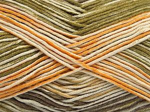 Fiber Content 50% Acrylic, 50% Cotton, Yellow, Brand Ice Yarns, Green, Cream, Camel, Yarn Thickness 2 Fine  Sport, Baby, fnt2-53759