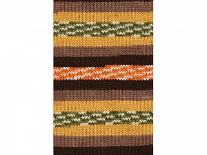 Fiber Content 100% Acrylic, Yellow, Orange, Brand Ice Yarns, Green, Brown Shades, Yarn Thickness 4 Medium Worsted, Afghan, Aran, fnt2-53778