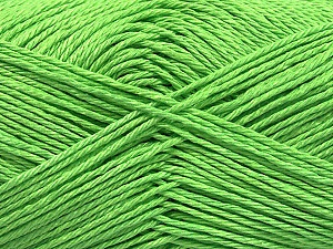 Fiber Content 100% Mercerised Cotton, Light Green, Brand Ice Yarns, Yarn Thickness 2 Fine  Sport, Baby, fnt2-53789