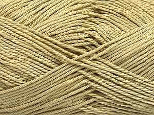 Fiber Content 100% Mercerised Cotton, Light Khaki, Brand Ice Yarns, Yarn Thickness 2 Fine  Sport, Baby, fnt2-53791