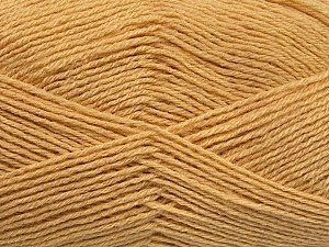 Fiber Content 60% Merino Wool, 40% Acrylic, Brand Ice Yarns, Cafe Latte, Yarn Thickness 2 Fine  Sport, Baby, fnt2-53824