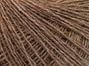 Fiber Content 50% Acrylic, 25% Alpaca, 25% Merino Wool, Brand Ice Yarns, Camel Melange, Yarn Thickness 2 Fine  Sport, Baby, fnt2-53838
