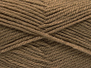 Worsted  Fiber Content 100% Acrylic, Brand Ice Yarns, Camel, Yarn Thickness 4 Medium  Worsted, Afghan, Aran, fnt2-53926