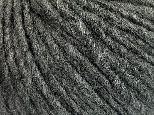 Fiber Content 50% Acrylic, 50% Wool, Brand Ice Yarns, Grey Melange, Yarn Thickness 5 Bulky  Chunky, Craft, Rug, fnt2-54030