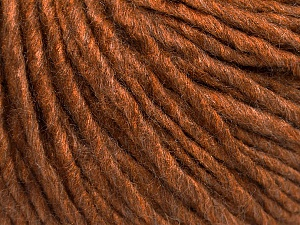 Fiber Content 50% Acrylic, 50% Wool, Brand Ice Yarns, Caramel, Yarn Thickness 5 Bulky  Chunky, Craft, Rug, fnt2-54033