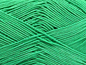 Ne: 8/4. Nm 14/4 Fiber Content 100% Mercerised Cotton, Brand Ice Yarns, Emerald Green, Yarn Thickness 2 Fine Sport, Baby, fnt2-54055
