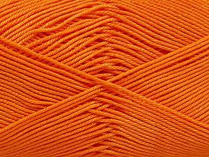Ne: 8/4. Nm 14/4 Fiber Content 100% Mercerised Cotton, Orange, Brand Ice Yarns, Yarn Thickness 2 Fine Sport, Baby, fnt2-54056