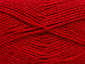 Worsted  Fiber Content 100% Acrylic, Brand Ice Yarns, Dark Red, Yarn Thickness 4 Medium  Worsted, Afghan, Aran, fnt2-54079