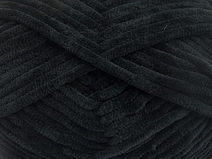 Fiber Content 100% Micro Fiber, Brand Ice Yarns, Black, Yarn Thickness 4 Medium  Worsted, Afghan, Aran, fnt2-54137