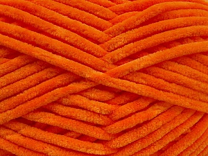 Fiber Content 100% Micro Fiber, Orange, Brand Ice Yarns, Yarn Thickness 4 Medium  Worsted, Afghan, Aran, fnt2-54148
