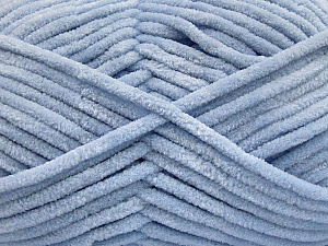 Fiber Content 100% Micro Fiber, Light Indigo Blue, Brand Ice Yarns, Yarn Thickness 4 Medium  Worsted, Afghan, Aran, fnt2-54152