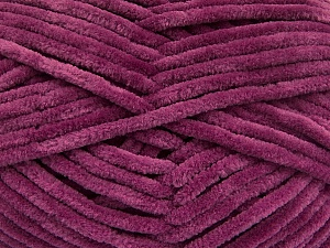 Fiber Content 100% Micro Fiber, Brand Ice Yarns, Dark Orchid, Yarn Thickness 4 Medium  Worsted, Afghan, Aran, fnt2-54159