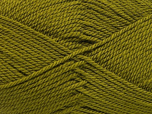 Fiber Content 100% Acrylic, Olive Green, Brand Ice Yarns, Yarn Thickness 2 Fine  Sport, Baby, fnt2-54192