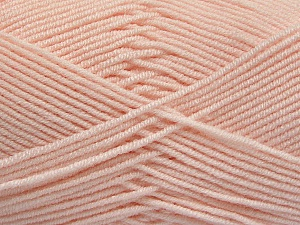 Fiber Content 50% Bamboo, 50% Acrylic, Light Salmon, Brand Ice Yarns, Yarn Thickness 2 Fine  Sport, Baby, fnt2-54234