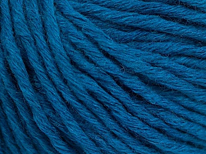 Fiber Content 55% Acrylic, 45% Wool, Turquoise, Brand Ice Yarns, Yarn Thickness 5 Bulky  Chunky, Craft, Rug, fnt2-54379