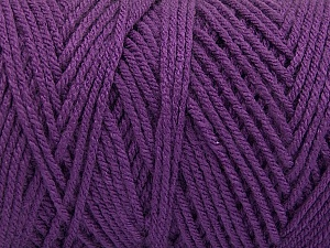 Items made with this yarn are machine washable & dryable. Fiber Content 100% Dralon Acrylic, Purple, Brand Ice Yarns, Yarn Thickness 4 Medium  Worsted, Afghan, Aran, fnt2-54426