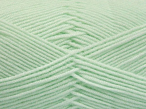 Fiber Content 50% Bamboo, 50% Acrylic, Mint Green, Brand Ice Yarns, Yarn Thickness 2 Fine  Sport, Baby, fnt2-54434
