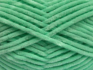 Fiber Content 100% Micro Fiber, Mint Green, Brand Ice Yarns, Yarn Thickness 4 Medium  Worsted, Afghan, Aran, fnt2-54509
