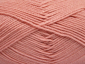 Fiber Content 100% Acrylic, Powder Pink, Brand Ice Yarns, Yarn Thickness 2 Fine  Sport, Baby, fnt2-54669