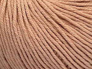 Global Organic Textile Standard (GOTS) Certified Product. CUC-TR-017 PRJ 805332/918191 Fiber Content 100% Organic Cotton, Powder Pink, Brand Ice Yarns, Yarn Thickness 3 Light DK, Light, Worsted, fnt2-54735