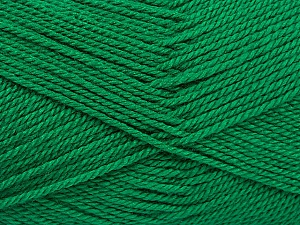 Fiber Content 100% Acrylic, Brand Ice Yarns, Emerald Green, Yarn Thickness 2 Fine  Sport, Baby, fnt2-54874