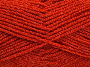 Worsted Fiber Content 100% Acrylic, Orange, Brand Ice Yarns, Yarn Thickness 4 Medium Worsted, Afghan, Aran, fnt2-54877