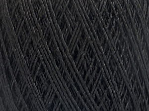 Fiber Content 90% Viscose, 10% Polyamide, Brand Ice Yarns, Black, Yarn Thickness 2 Fine  Sport, Baby, fnt2-55109