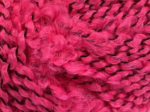Fiber Content 100% Acrylic, Pink, Brand Ice Yarns, Yarn Thickness 5 Bulky  Chunky, Craft, Rug, fnt2-55160
