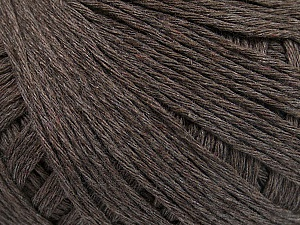 Fiber Content 100% Cotton, Brand Ice Yarns, Brown, Yarn Thickness 1 SuperFine  Sock, Fingering, Baby, fnt2-55420