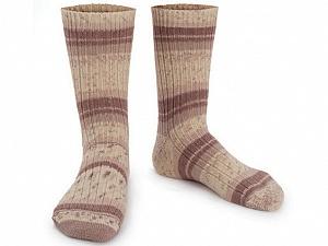 Fiber Content 75% Superwash Wool, 25% Polyamide, Brand Ice Yarns, Cream, Brown, Yarn Thickness 1 SuperFine  Sock, Fingering, Baby, fnt2-55538