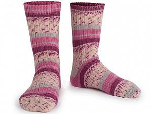 Fiber Content 75% Superwash Wool, 25% Polyamide, Pink, Maroon, Brand Ice Yarns, Grey, Cream, Yarn Thickness 1 SuperFine  Sock, Fingering, Baby, fnt2-55540