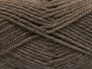 Bulky  Fiber Content 100% Acrylic, Brand Ice Yarns, Brown, Yarn Thickness 5 Bulky  Chunky, Craft, Rug, fnt2-55652