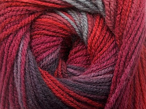 Fiber Content 100% Acrylic, Red, Maroon, Brand Ice Yarns, Grey, Burgundy, Yarn Thickness 3 Light  DK, Light, Worsted, fnt2-55953