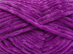 Fiber Content 100% Micro Fiber, Purple, Brand Ice Yarns, Yarn Thickness 4 Medium  Worsted, Afghan, Aran, fnt2-55987
