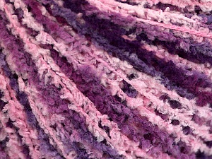 Fiber Content 100% Polyamide, Purple Shades, Pink, Brand Ice Yarns, Yarn Thickness 2 Fine  Sport, Baby, fnt2-56108