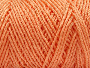 Items made with this yarn are machine washable & dryable. Fiber Content 100% Dralon Acrylic, Light Orange, Brand Ice Yarns, Yarn Thickness 4 Medium  Worsted, Afghan, Aran, fnt2-56127