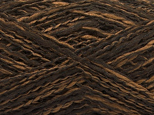 Fiber Content 44% Wool, 44% Acrylic, 12% Polyamide, Brand Ice Yarns, Brown Shades, Yarn Thickness 2 Fine  Sport, Baby, fnt2-56189