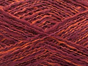 Fiber Content 44% Wool, 44% Acrylic, 12% Polyamide, Maroon, Brand Ice Yarns, Copper, Yarn Thickness 2 Fine  Sport, Baby, fnt2-56198