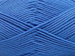 Fiber Content 50% SuperFine Nylon, 50% SuperFine Acrylic, Brand Ice Yarns, Blue, Yarn Thickness 4 Medium  Worsted, Afghan, Aran, fnt2-56287