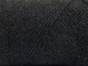 Fiber Content 50% Wool, 50% Acrylic, Brand Ice Yarns, Anthracite Black, Yarn Thickness 3 Light  DK, Light, Worsted, fnt2-56425
