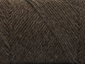 Fiber Content 50% Wool, 50% Acrylic, Brand Ice Yarns, Brown, Yarn Thickness 3 Light  DK, Light, Worsted, fnt2-56428