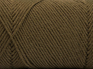 Fiber Content 50% Acrylic, 50% Wool, Brand Ice Yarns, Camel, Yarn Thickness 3 Light  DK, Light, Worsted, fnt2-56429