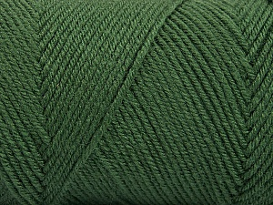 Fiber Content 50% Wool, 50% Acrylic, Khaki, Brand Ice Yarns, Yarn Thickness 3 Light  DK, Light, Worsted, fnt2-56431