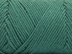 Fiber Content 50% Wool, 50% Acrylic, Sea Green, Brand Ice Yarns, Yarn Thickness 3 Light  DK, Light, Worsted, fnt2-56432