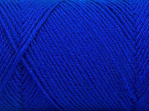 Fiber Content 50% Acrylic, 50% Wool, Brand Ice Yarns, Blue, Yarn Thickness 3 Light  DK, Light, Worsted, fnt2-56436