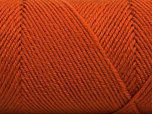 Fiber Content 50% Acrylic, 50% Wool, Brand Ice Yarns, Dark Orange, Yarn Thickness 3 Light  DK, Light, Worsted, fnt2-56437