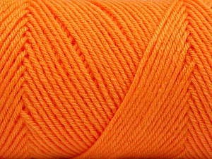 Fiber Content 50% Wool, 50% Acrylic, Orange, Brand Ice Yarns, Yarn Thickness 3 Light  DK, Light, Worsted, fnt2-56438