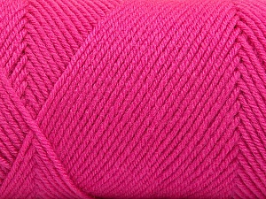 Fiber Content 50% Wool, 50% Acrylic, Pink, Brand Ice Yarns, Yarn Thickness 3 Light  DK, Light, Worsted, fnt2-56440