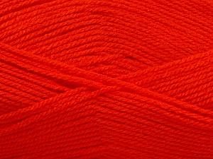 Fiber Content 100% Acrylic, Brand Ice Yarns, Dark Orange, Yarn Thickness 3 Light  DK, Light, Worsted, fnt2-56564