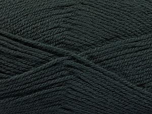 Fiber Content 100% Acrylic, Brand Ice Yarns, Dark Smoke Green, Yarn Thickness 3 Light  DK, Light, Worsted, fnt2-56568